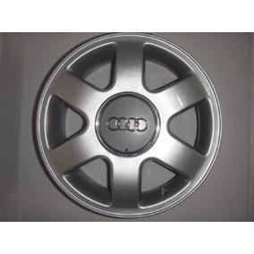Rodas Audi A3 Originais Aro 15 Com Tampas Furaçao 5x100