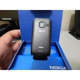 Aparelho Celular Nokia C2-05 Rádio Câmera Bluetooth Na Caixa