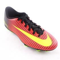 Chuteira Masculina Nike Mercurial Vortex Vermelha Lançamento