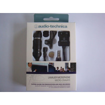 Microfone Lapela - Atr 3350is Audio-technica - P/ Smartphone
