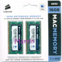 16gb = 2x8gb Sodimm Corsair 1600 Apple Imac Macbook Mac Pro