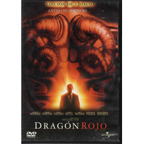Dragón Rojo - Anthony Hopkins - Edward Norton - 2 Dvd´s