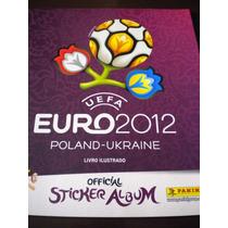 Álbum De Figurinhas Eurocopa 2012 Polonia Ucran Panini Vazio
