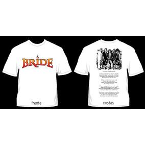 Camisa Retrô Bride 1987- Petra Renascer Metal Cristão Gospel