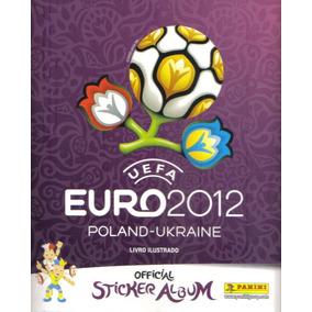Álbum Figurinhas Euro 2012 - Completo - Para Colar Eurocopa