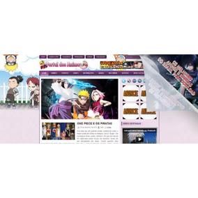 Portal, Site Para Animes, Mangas E Outros Conteúdos - Em Php