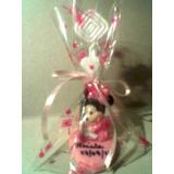 Lembrancinha Minnie Baby Porta-recado/foto Em Biscuit