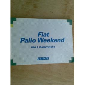 Livro - Fiat Palio Weekend - Uso E Manutençao -