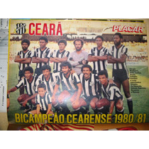 Pôster Placar Ceará - Campeão Cearense 81