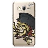 Capa Case Capinha Samsung J3 - Piratas 4