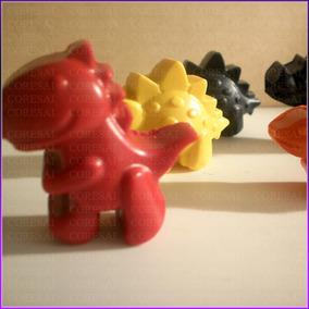 Promo Crayones - Souvenirs - Dinosaurios - Pack X 48
