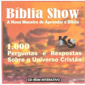 Bíblia Show 1000 Perguntas E Respostas