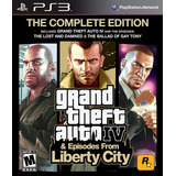 Grand Theft Auto Iv Gta Liberti City Playstation 3 Nuevo