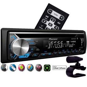 Radio Automotivo Pioneer Bt Mp3 Rca Usb Mixtrax Deh 3980bt