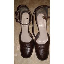 Zapatos De Tango Guido Gabrielli N°39 Taco 7 Cm