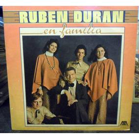 Ruben Duran En Familia Vinilo 1978 Lp Eureka