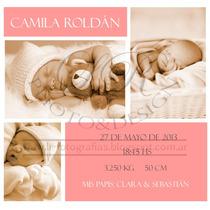 Foto Souvenir Iman Nacimientos Bebes Cumpleaños Invitaciones