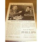 L 290 Propaganda Antiga Leite Magnésia Phillips # 13