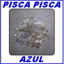 Led 5mm Pisca Azul Automático -simulador De Alarme /20 Peças