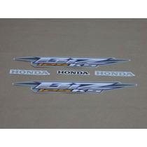 Kit Adesivos Honda Biz 125 2006 Prata - Decalx