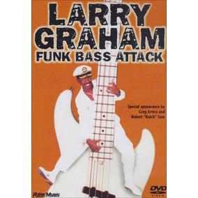 Larry Graham Graham Funk Bass Attack [eua] Dvd Novo Lacrado