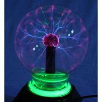 Abajur Globo De Plasma Decoração Eventos Tuning 12cm Médio