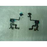 Cabo Flex Flat Botão Power Sensor Prox. Iphone 4s Cr7,00