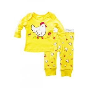 Pijama 2 Piezas Bebé Oferta 0 Meses Baby Creysi Nueva