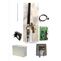 Provedor 1000mw Antena 25dbi + Pcba+ Pigtail+ Fonte Poe