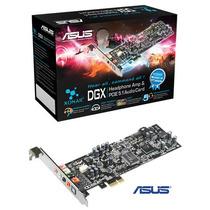 Placa De Som Asus Xonar Dgx 5.1 Pci Express Box Lacrado