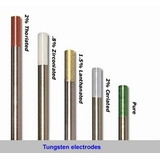 Eletrodo De Tungstênio Puro 2,4mm - Soldagem De Alumínio Ac.