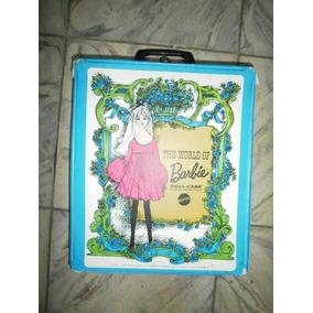 Maleta Original Barbie 1968 De Mattel U.s.a. Con Gancios