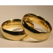 Alianças Par Tradicional Noivado Feitas De Moedas Antigas