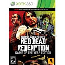 Red Dead Redemption + Undead Edition Mídifa Física Xbox360