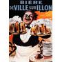 Garçom Canecos Chopp Verveja Bar Biere Vintage Poster Repro