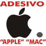 Adesivo Apple Mac Maçã P/ Carro,laptop,moto,geladeira,etc