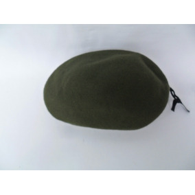 Boina Antiga De Lã Verde Da Marca Cury Número 56