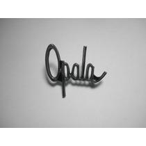 Emblema Opala Volante 73/77 Capa Canoa Friso Grade Ss Lente