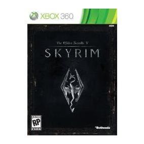 Jogo Ntsc Lacrado The Elder Scrolls V Skyrim Para Xbox 360