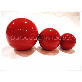 Fuente Esferas Ceramica Centros De Mesa Decoracion Hogar