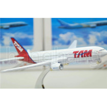 Miniatura Avião Metal Brasil Tam Airline Boeing 777 16cm