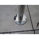 Barra Pole Dance De Aço Inox Removível 1 3/4 (44 Mm)