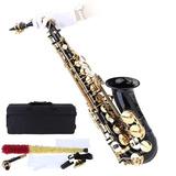 Saxofon Alto Envio Gratis Sax Negro Estuche Accesorios Nuevo