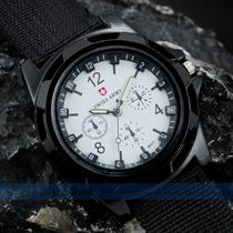 Relógio Sport Swiss Army Military Branco