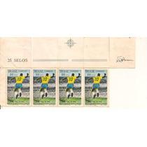 C-658 Selos Novos Milésimo Gol De Pelé Ano 1969 Futebol