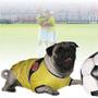 ¡ Camiseta Mundial Peq. Mascota Celebra Brasil 2014 Perro !!