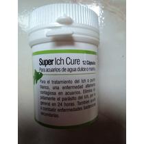 Super Ich Cure 12 Capsulas Tratamiento Contra Punto Blanco