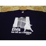 Camiseta 30 Aniversario Da Morte Elvis Presley Tamanho Gg