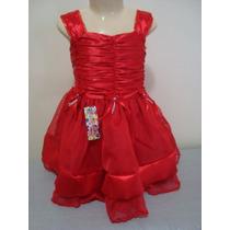 Lindo Vestido Organza 1 Ano! Frete Grátis! Modelo 317.