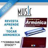 Revista Aprende A Tocar La Armonica - Bm Music Boulogne -